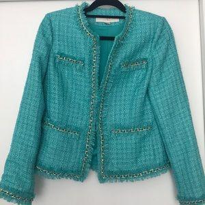 Boston proper tweed jacket - blue